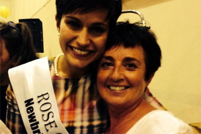 Newly-crowned Rose of Tralee, Maria Walsh